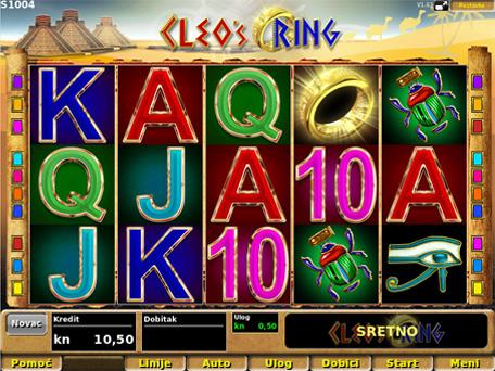 Cleopatra slots spel video